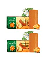 Biotique Orange Peel Exfoliating Soap, 150 gm (pack of 2)