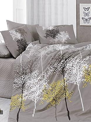 Colors Couture Bettdecke und Kissenbezug Hazan