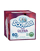Scotties 3-Ply Facial Tissue, 60 Sheets (Pack of 36)