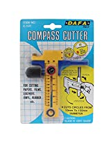 Precision Compass Circle Cutter - Size 10mm to 150mm - 1l745 - For Paper Arts and Craft, Leather, Vinyl, Rubber Etc.