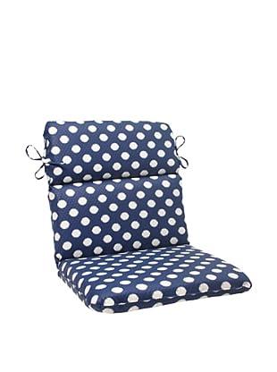 Waverly Sun-n-Shade Solar Spot Pool Chair Cushion (Navy/Cream)