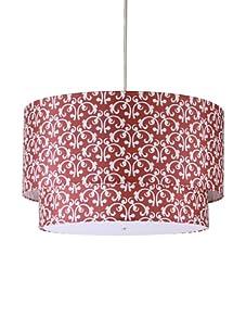 Inhabit Hudson Double Pendant Lamp (Scarlet)