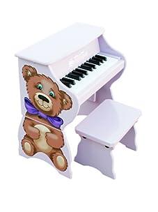Schoenhut 25-Key Piano Pal-Teddy Bear