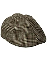 San Diego Hat Co. Men's Plaid Ivy Driver Hat
