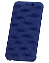 HTC Dot View Case for HTC One M9 - Retail Packaging - Blue