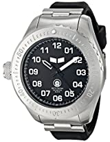 Vestal Men's ZR4002 ZR-4 Stainless Steel and Silicone Diving Watch