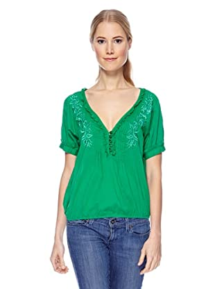 Magic Woman Blusa Bordado (Verde)