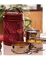 Princeware Red Challenger Lunch - 4 Containers