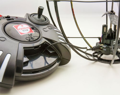 R/C ラジコン 3ch ジャイロ搭載 スペースボール 謎の浮遊物体 ブラック 京商エッグ
