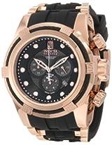 Jason Taylor for Invicta Collection 12956 BOLT Zeus Chronograph Grey Carbon Fiber Dial Black Polyurethane Watch