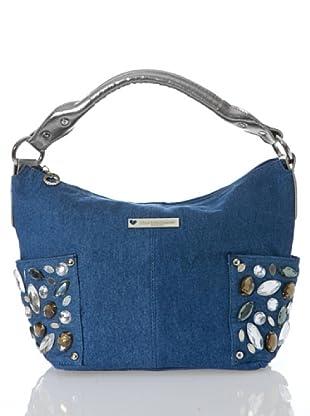Lola Casademunt Bolso Tejano (Azul)