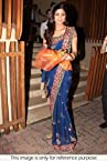 Bollywood Replica Shilpa Shetty Georgette Saree In Blue Colour 131