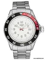 Esprit Varic Analog White Dial Men's Watch - 3228