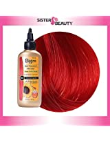 Bigen Semi Permanent Hair Color, Ruby Red, 3.0 Ounce