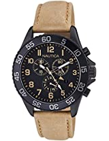 Nautica Sports Chronograph Brown Dial Men's Watch - NAI17507G