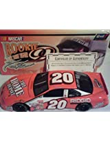 1/18 scale Revell 2000 Edition Tony Stewart #20 Home Depot 1999 Rookie of the Year Commemoration Diecast Car With Rookie of the Year Logo Limited Edition Only 2508 Made