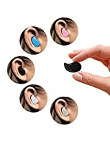 Mini Invisible PChero Ultra Small Bluetooth 4.0 Earbud Headset with microphone Support Hands-free Calling For Smartphones Perfect for Listening to Music at work - [Black]
