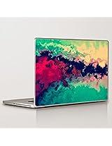 Theskinmantra Mesh Laptop Skin Decal