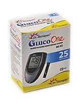 Dr. Morepen Bg03 Gluco One 25 Test Strips - No Glucometer - 2016 Expiry