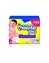 Mamy Poko Pant Style Extra Large Size Diapers (14 Count)