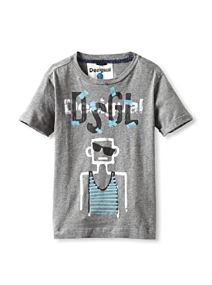 Desigual Boy's Nescuick T-Shirt (Grey)