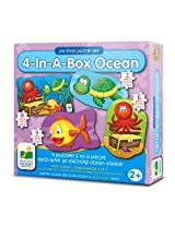 The Learning Journey My First Puzzle Set 4-In-A-Box! Ocean