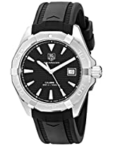 TAG Heuer Men's WAY2110.FT8021 Analog Display Automatic Self Wind Black Watch