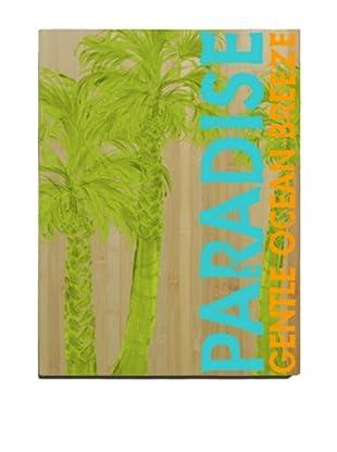 Artehouse Paradise Bamboo Wood Sign