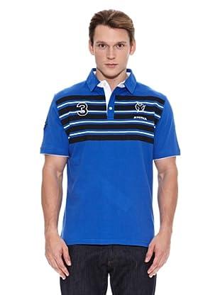 Mystica Polo Coriolis (Azul / Negro)