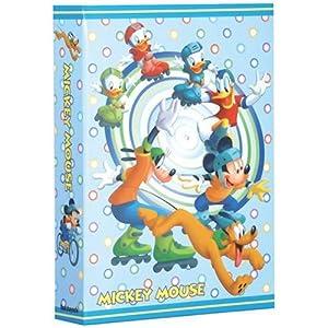 【クリックで詳細表示】ナカバヤシ 1PLポケットアルバム 300EX ミッキーマウス ブルー