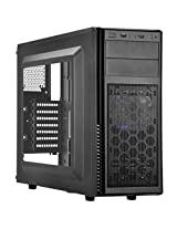 Silverstone Tek ATX, Micro-ATX Mid Tower Computer Case with Side Window Panel PS11B-W