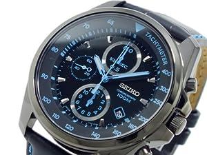 セイコー SEIKO クロノグラフ 腕時計 SNDD71P1 ブラック&ブルー[逆輸入]