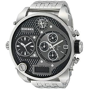 Diesel End of Season Analog-Digital Black Dial Men's Watch - DZ7221