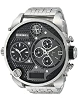 Diesel  Analog-Digital Black Dial Men's Watch - DZ7221