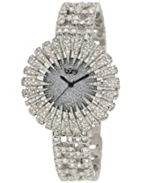 Burgi Women's BU54SS Dazzling Crystal Quartz Watch