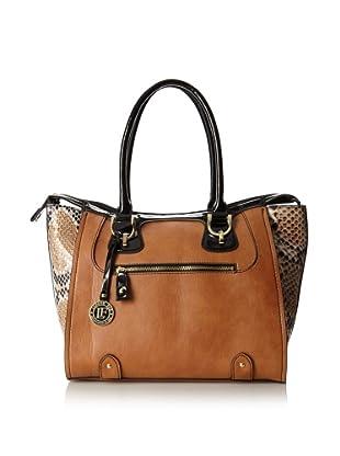 London Fog Women's Sullivan Tote Bag (Cognac)