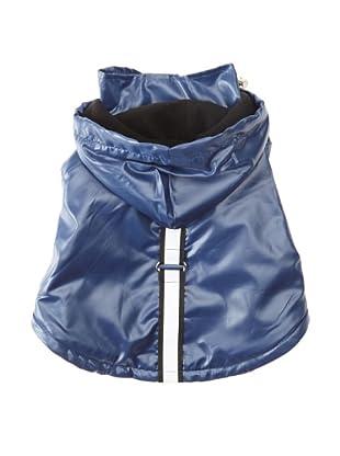 Pet Life Reflecta-Sport Rain Jacket (Dark Blue)
