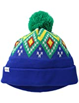 Coal Men's Geo Beanie, Royal Blue, One Size