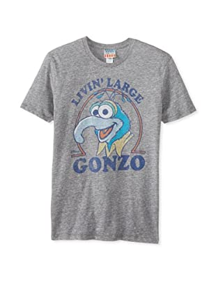 Junk Food Men's Gonzo Livin Large T-Shirt (Steel)