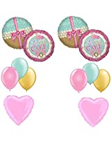 Princess Party Let Them Eat Cake Balloon Decoration Kit