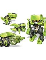T4 Transforming Solar Powered Robot Kit - Science Education DIY Toys