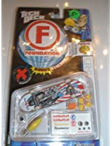 Tech Deck Foundation Board with Tools and Extra Pig Wheels Wheels/stickers