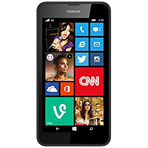 Nokia Lumia 630 (Single SIM, Black)