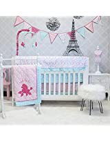 Pam Grace Creations Paris 10 Piece Crib Bedding Set