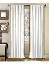 Deco Window Curtain Gaurika Ivory 9 ft Long Door