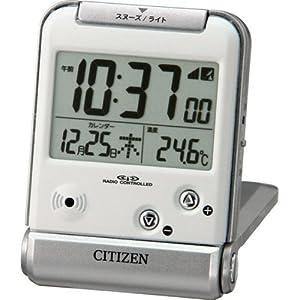 CITIZEN (シチズン) 目覚し時計 パルデジットベラR081 電波時計 8RZ081-019