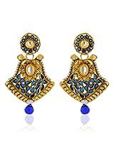 Zaveri Pearls Unique Hanging Earring-ZPFK2839