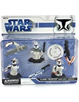 Star Wars Clone Trooper Bust-Ups Armada 1 Collectible Pre-Painted Press 'N Fit Model Kit
