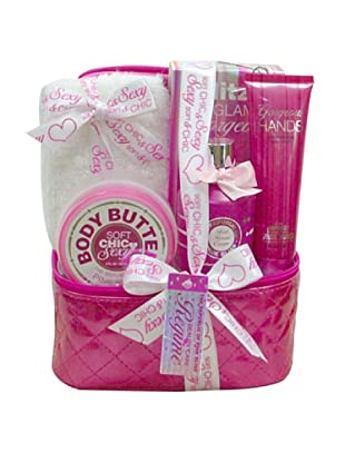 BTW Estuche Baño Plata The Republic of Pink Bliss