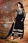 New Arrival Black Heavy Embroidered Anarkali Suit